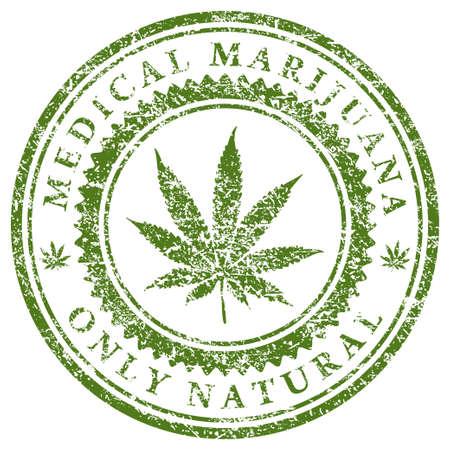cannabis leaf: Medical Marijuana