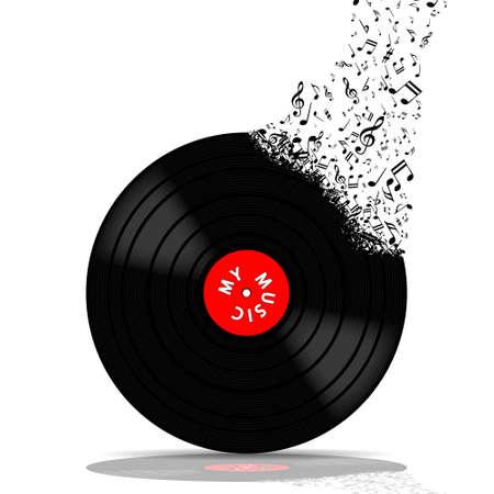 Vinyl record-LP music