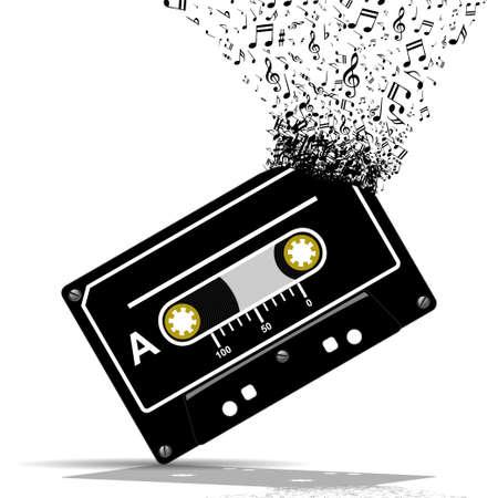 communications technology: Audio cassette-Music