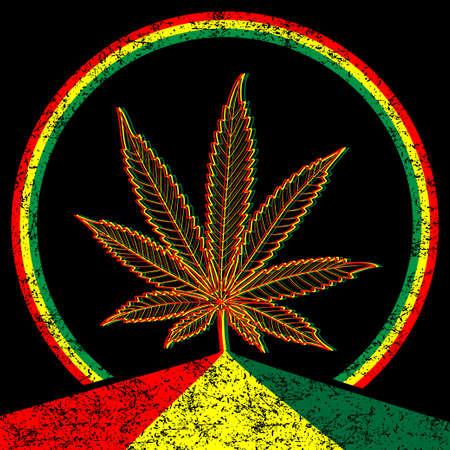 drug addict: Cannabis-Marijuana-background