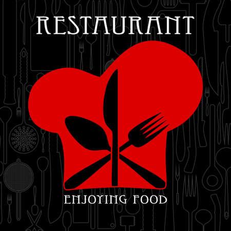 gastronomic: Restaurant and gastronomy Illustration