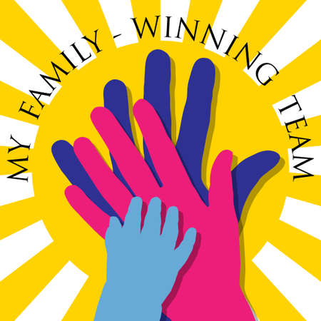 familia unida: Mi equipo-Ganar familia