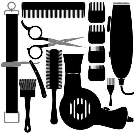 hair accessories: Hair accessories Illustration