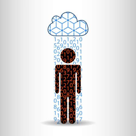Rain information man