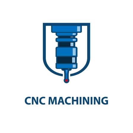Symbol für CNC-Bearbeitung