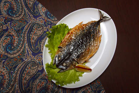 fryed: Grilled Foods - Grilled Fish with Lemon and Cherry Tomato