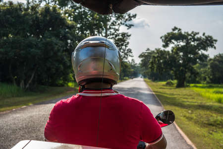 Tuk-Tuk driver, Cambodia