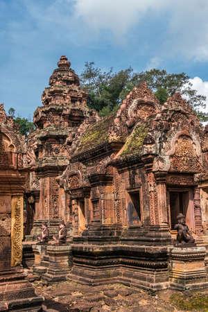 Banteay Srei Temple, Angkor area, Cambodia