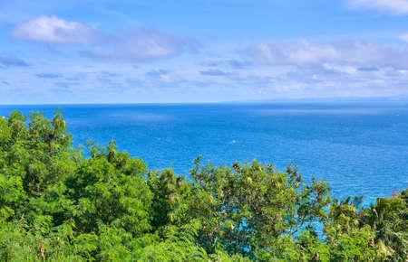 Boracay island aerial view, Philippines