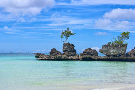 Boracay island Grotto,  Willys Rock, - Famous and Controversial Landmark , Philippines
