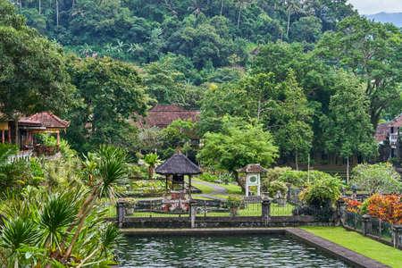 Tirta Gangga water palace on Bali island, Indonesia