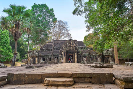 Banteay Kdei temple in Angkor, Siem Reap, Cambodia.