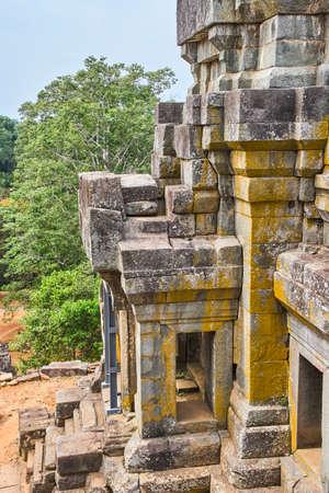 Ta Keo piramid temple in Angkor, Siem Reap, Cambodia
