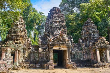 Preh Khan temple, Siem Reap, Cambodia Stock Photo