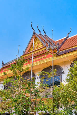 Wat Preah Prom Rath beautiful temple in Siem Reap, Cambodia