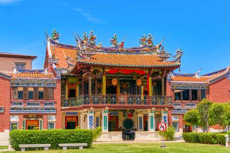 Seh Tek Tong Cheah Kongsi Temple in Georgetown, Penang island, Malaysiaa