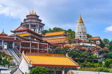 Kek Lok Si Temple on Penang island, Georgetown, Malaysia 写真素材