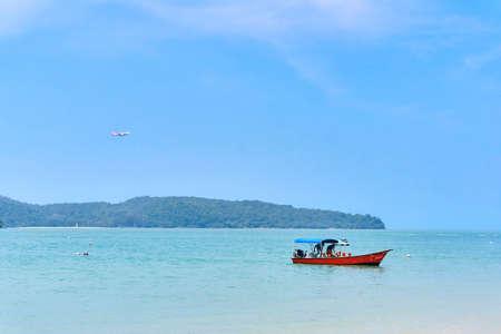 LANGKAWI, MALAYSIA: Cenang Beach view