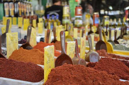 Israeli market - Spices photo