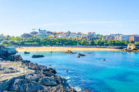 Cityscape of Santander, Spain  Stock Photo