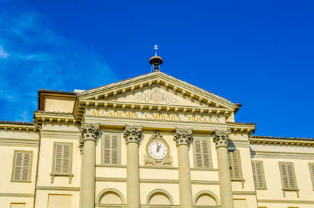 Accademia Carrara in the italian city Bergamo