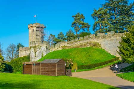 Warwick castle, England Stock Photo