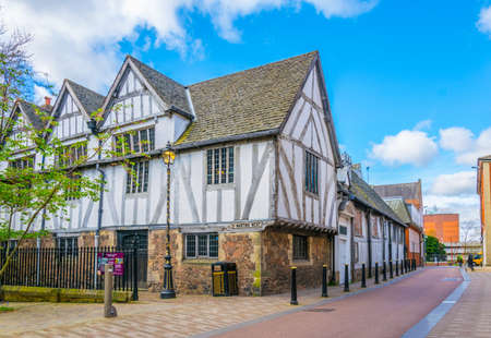 Guild Hall en Leicester, Inglaterra Foto de archivo