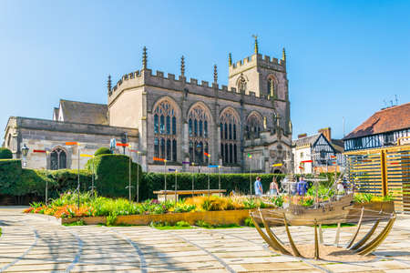 The guild chapel in Stratford upon Avon, England Stockfoto