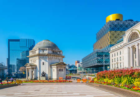Hall of Memory, Library of Birmingham en Baskerville House, Engeland