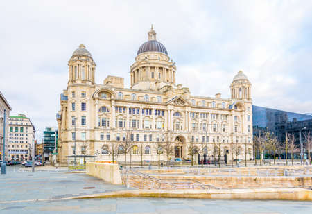Port of Liverpool building in Liverpool, England  Editorial