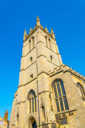 Saint Martin church in Stamford, England Фото со стока