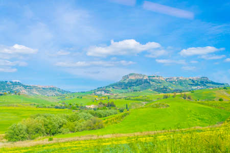nature in the central Sicily, Italy