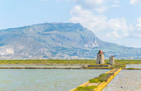Saline di Trapani, Sicily, Italy