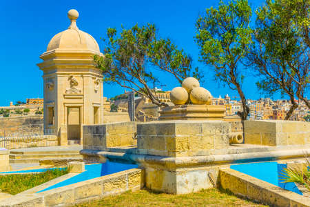 Gardjola gardens in the maltese town Senglea