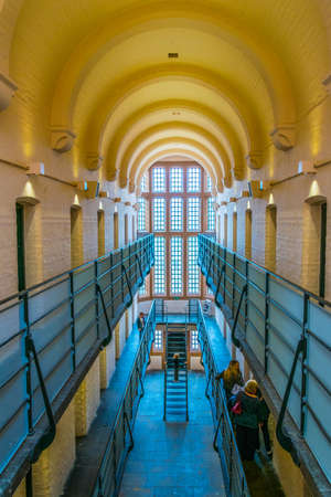 LINCOLN, UNITED KINGDOM, APRIL 10, 2017: Interior of the lincoln castle used to serve as a prison, England