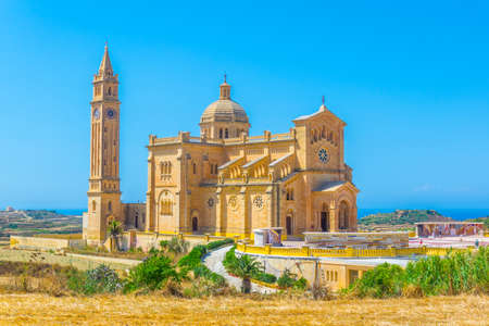Ta' Pinu basilica of Gharb on Gozo island, Malta, Europe