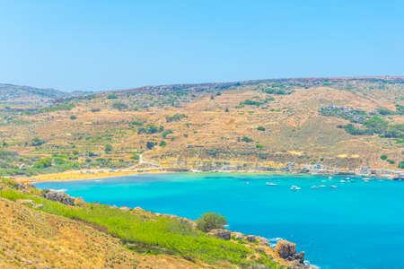 Gnejna bay on Malta