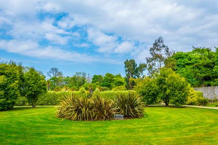 Talbot botanical garden in Malahide, Ireland