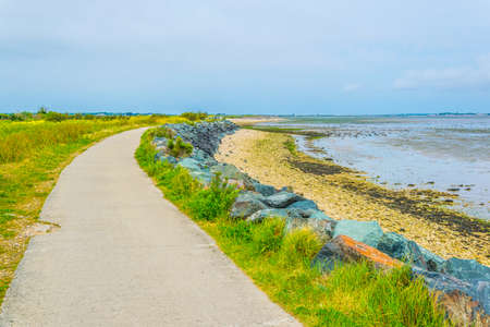 Countryside of Ile de Re in France
