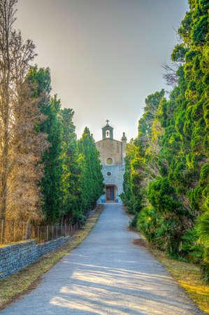 Ermita de Betlem monastery on Mallorca, Spain Imagens