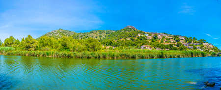 Marshes of Torrent de Canyamel on Mallorca, Spain