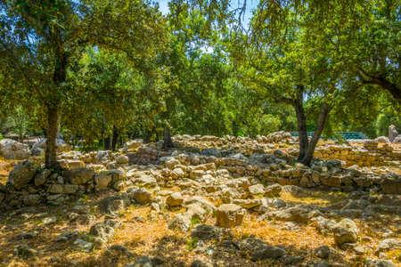 Ses Paisses ancient ruins near Arta, Mallorca, Spain