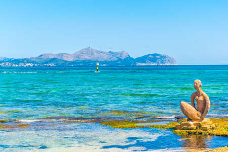Alcudia bay at Mallorca, Spain 写真素材