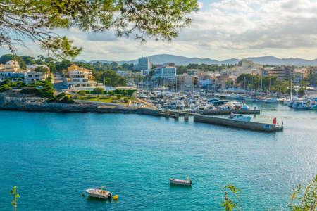 Seaside view of Porto Cristo, Mallorca, Spain Banco de Imagens