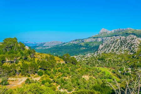 Serra Tramuntana mountain range at Mallorca, Spain Stok Fotoğraf