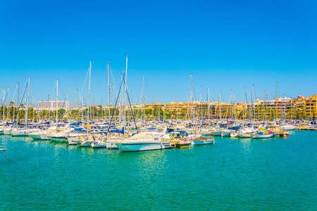 Marina at Port d'Alcudia, Mallorca, Spain Banque d'images - 105047492