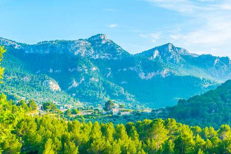 Serra Tramuntana mountain range at Mallorca, Spain 版權商用圖片