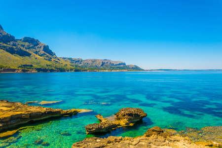 Es Calo bay at Mallorca, Spain