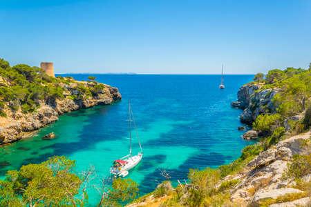 Cala Pi bay at Mallorca, Spain Banque d'images