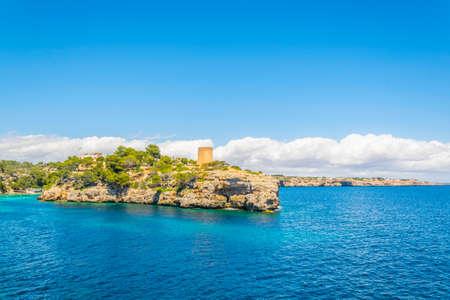 Cala Pi tower, Mallorca, Spain Stock Photo